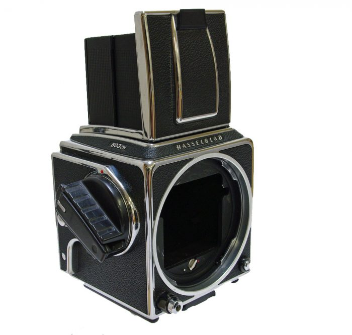 Used hasselblad 503cw chrome body