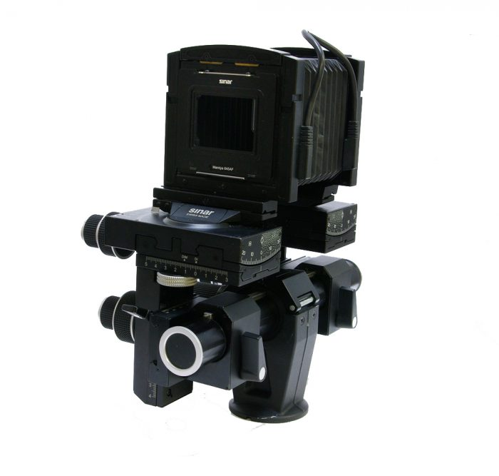 Used sinar p3 digital technical camera