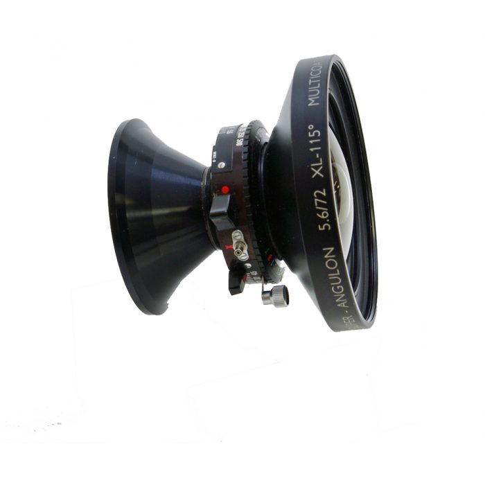 Used schneider super angulon 72mm f5.6 xl