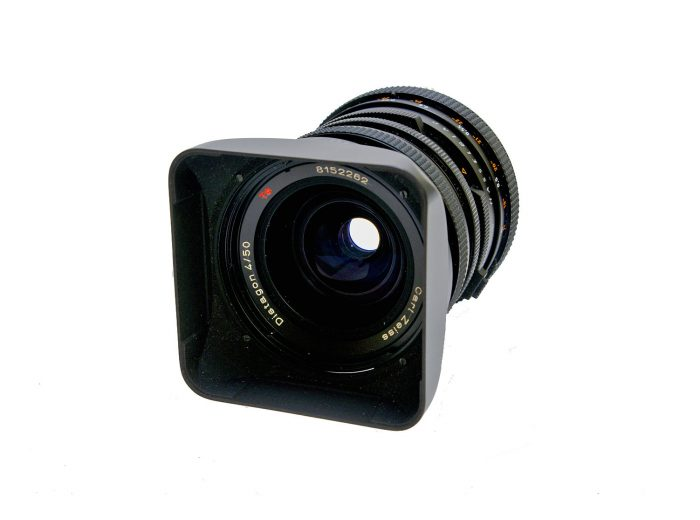 Used hasselblad distagon 50mm f4 fle cf