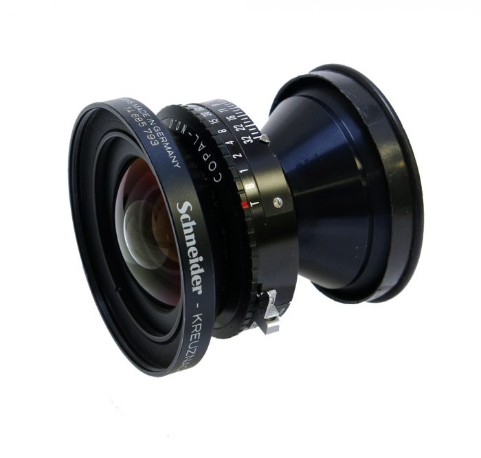 Used schneider super angulon 58mm f5.6 xl copal 0