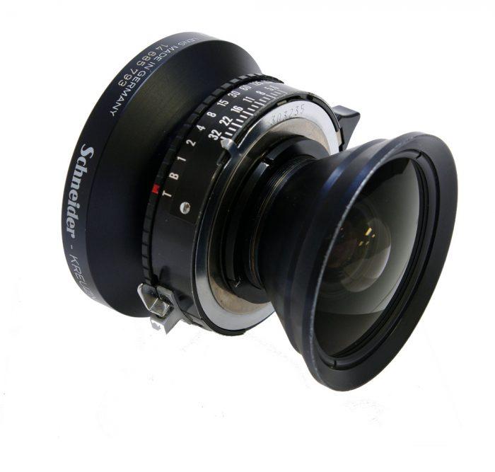 Used Schneider Super Angulon 58mm f5.6 XL Copal 0