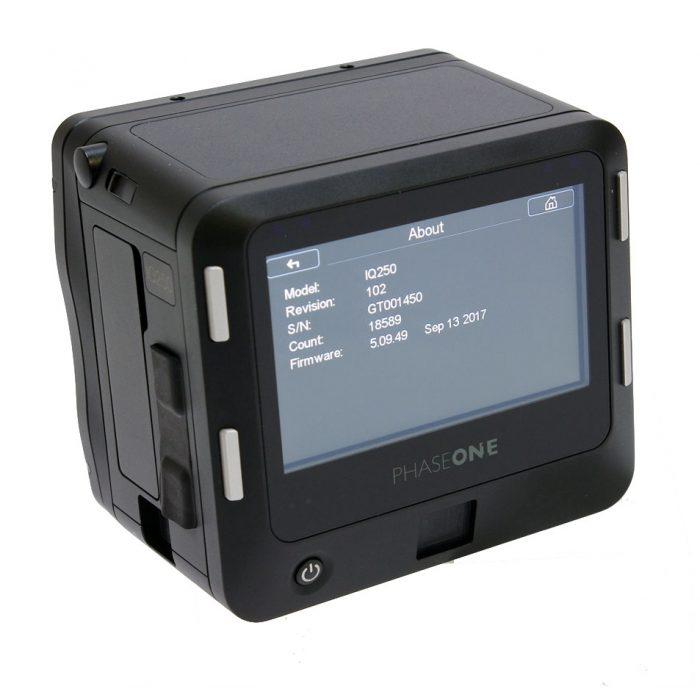Used Phase One IQ2 50MP Digital Back MAFD Fitting