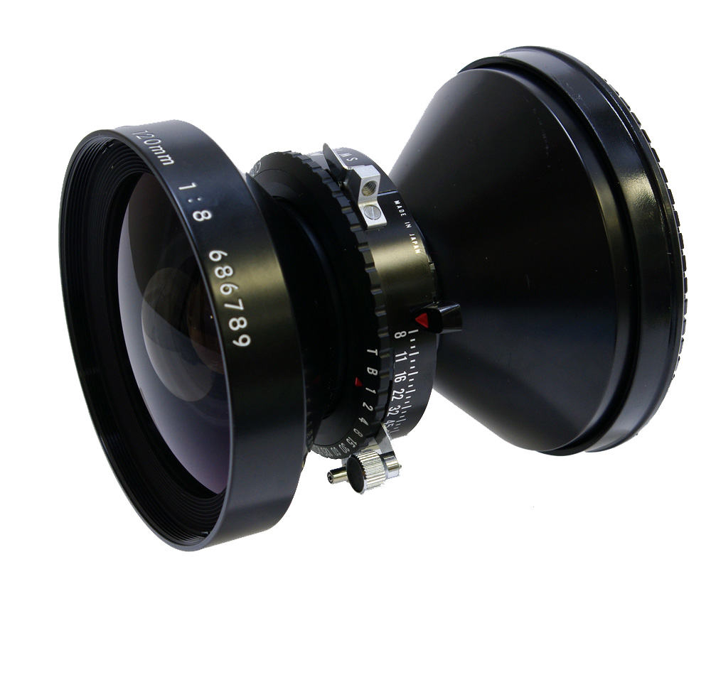 Used Nikon Nikkor SW 120mm f8 Copal 0