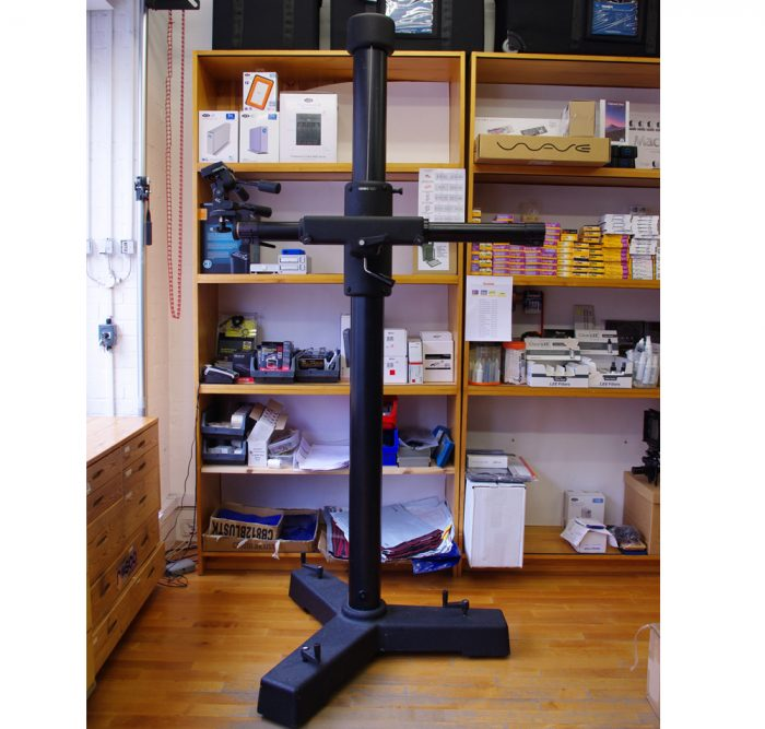 Cambo Lighting stand c/w Manfrotto Three Way head