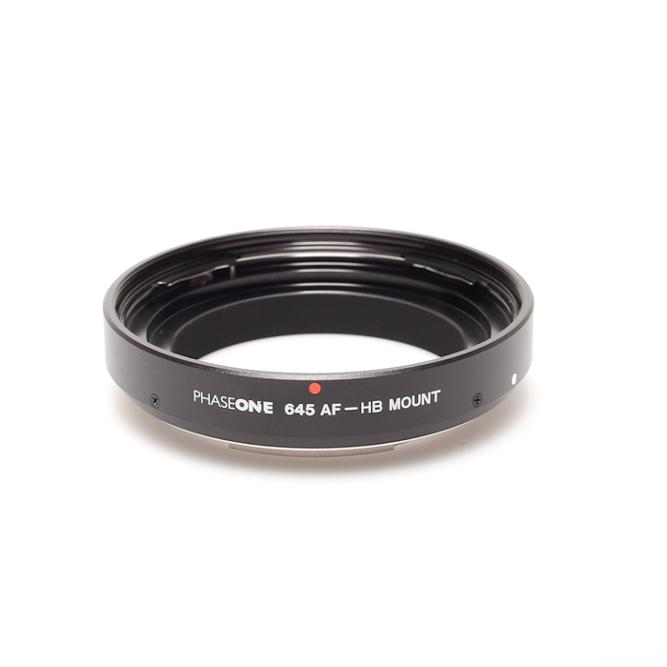 Phase one multimount lens adaptor for hasselblad v lenses
