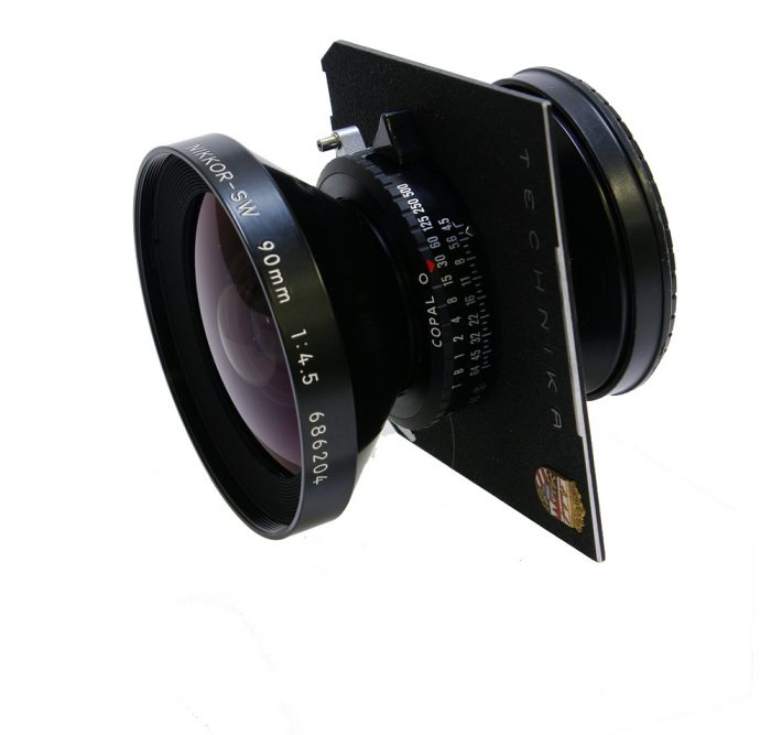 Used Nikon Nikkor SW 90mm f4.5 Copal 0 Excellent Condition