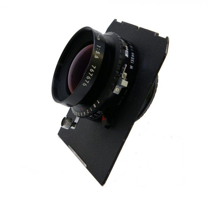 Used Nikon Nikkor W 150mm f5.6 Copal 0