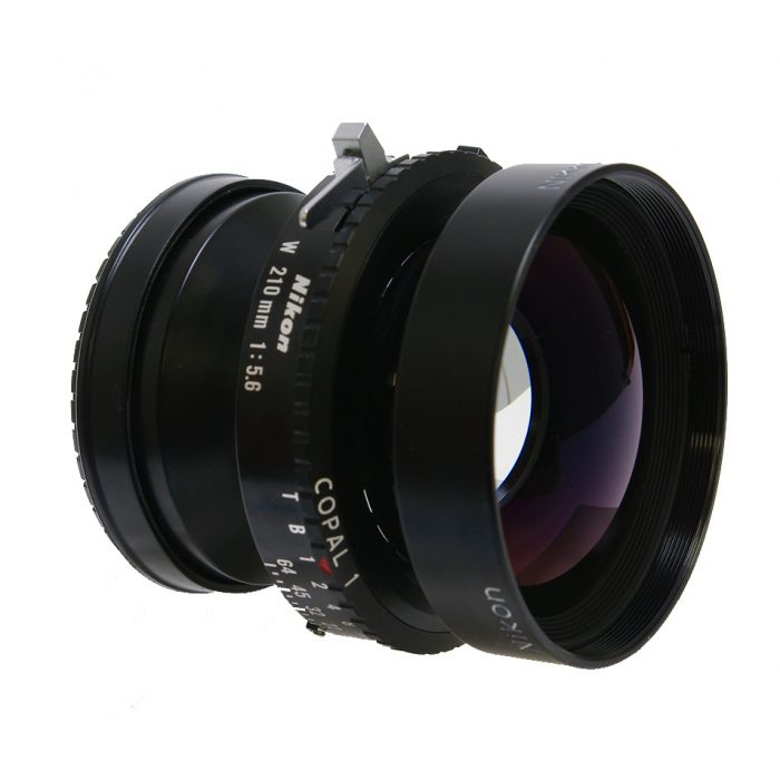 Used Nikon Nikkor W 210mm f5.6 Copal 1