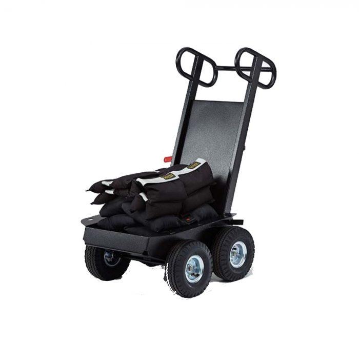 Cable/sand bag mini cart (foldable)