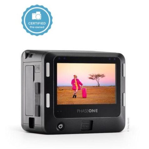Certified pre-owned phase one iq3 100mp trichromatic