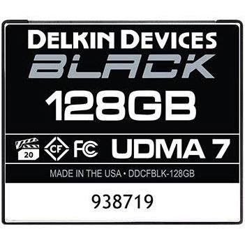 Delkin devices black rugged cf 128gb 160mb/s card