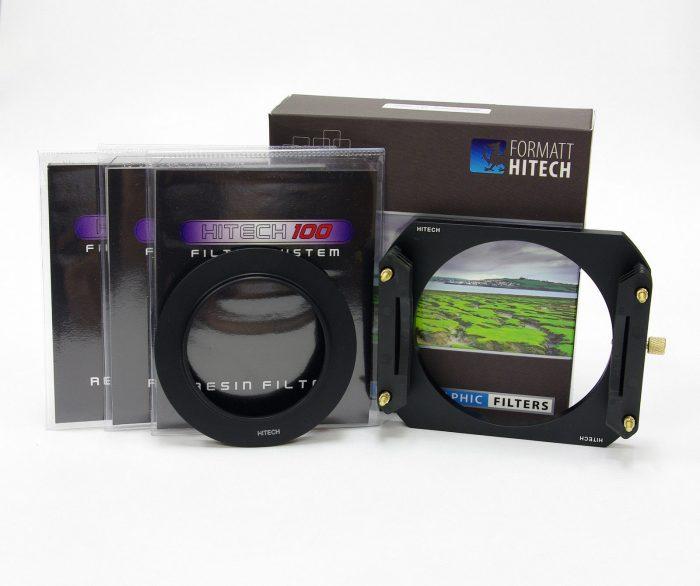 Formatt hitech 100 x 125mm metal holder nd grad hard edge + wide adapter ring kit