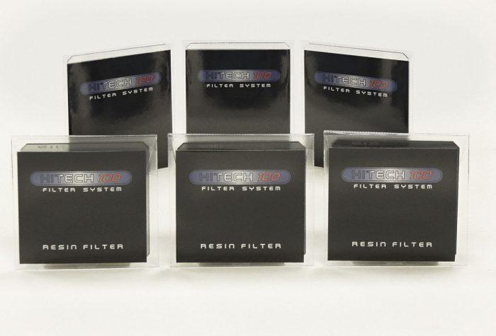Formatt hitech 100 x125mm nd grad master set ( soft edge ) 3x nd + 3x nd grad