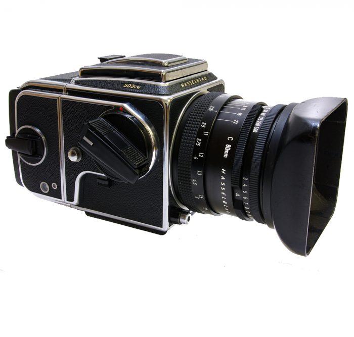 Used hasselblad 503cw millenium kit