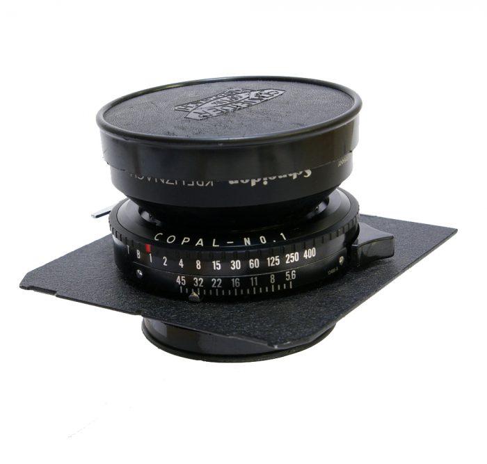 Used schneider super symmar xl 110mm f5.6 cw linhof/wista lens panel