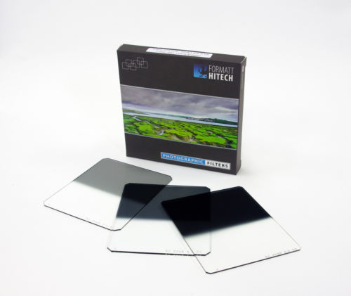 Formatt hitech 100 x 125mm nd grad filter set ( hard edge ) 1-3 stops