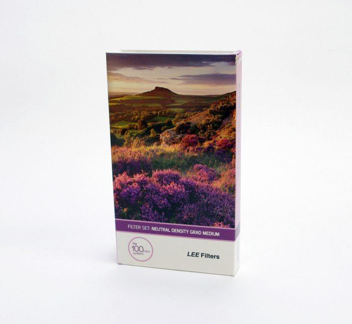 Lee filters 100x 150mm nd grad filter set ( medium edge )