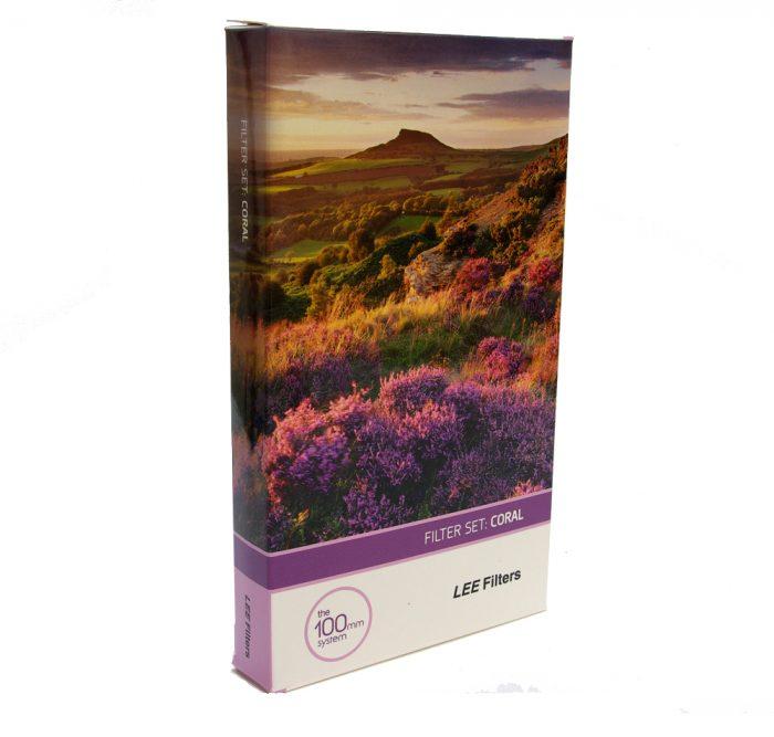 Lee filters coral set (100 x 150mm)