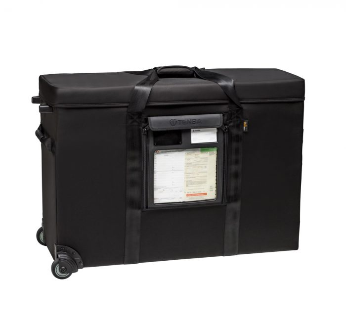 Tenba transport air case with wheels 31″ e120