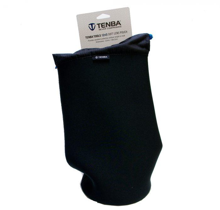 Tenba tools soft lens pouch 12″ x 5″ / 30 x 13 cm