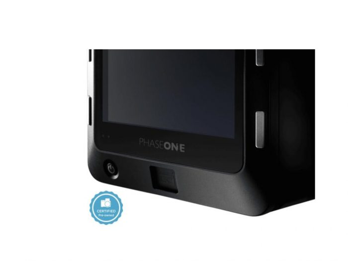 Certified pre-owned phase one iq1 40mp digital back