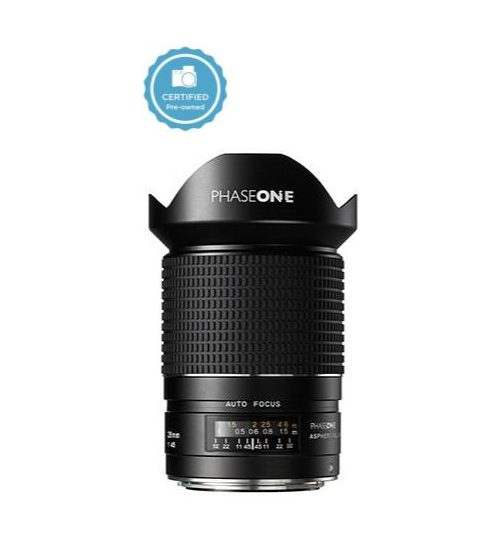 Certified pre-owned phase one 28mm af f4.5 aspherical