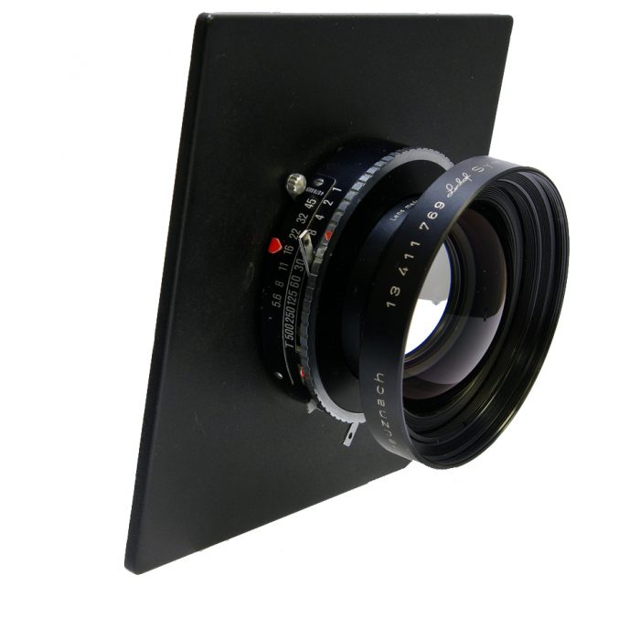 Used schneider (linhof) symmar-s 210mm mc with sinar lens  panel