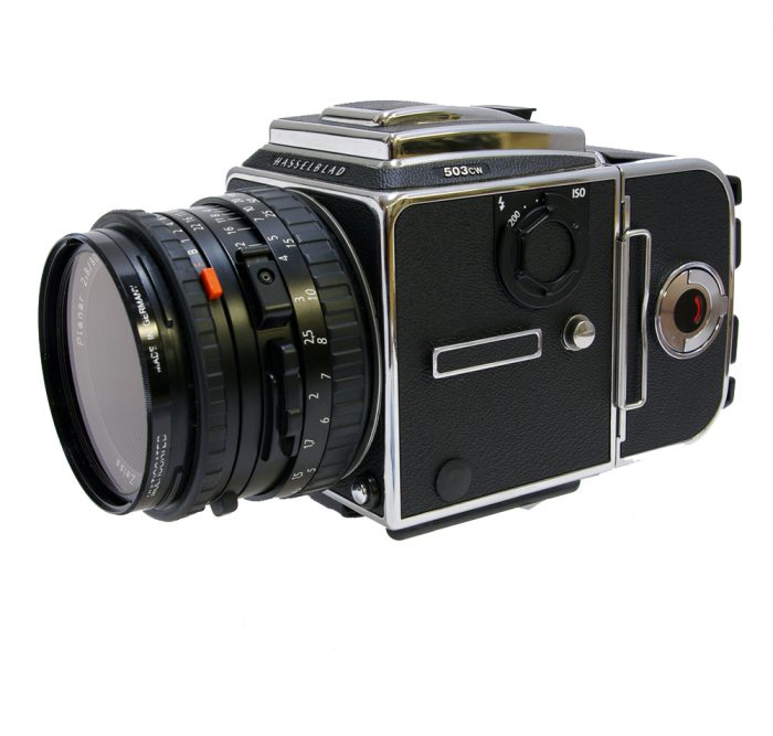 Used hasselblad 503cw camera kit with 80mm cfi