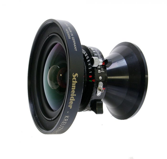 Used schneider super angulon 72mm f5.6 xl mc