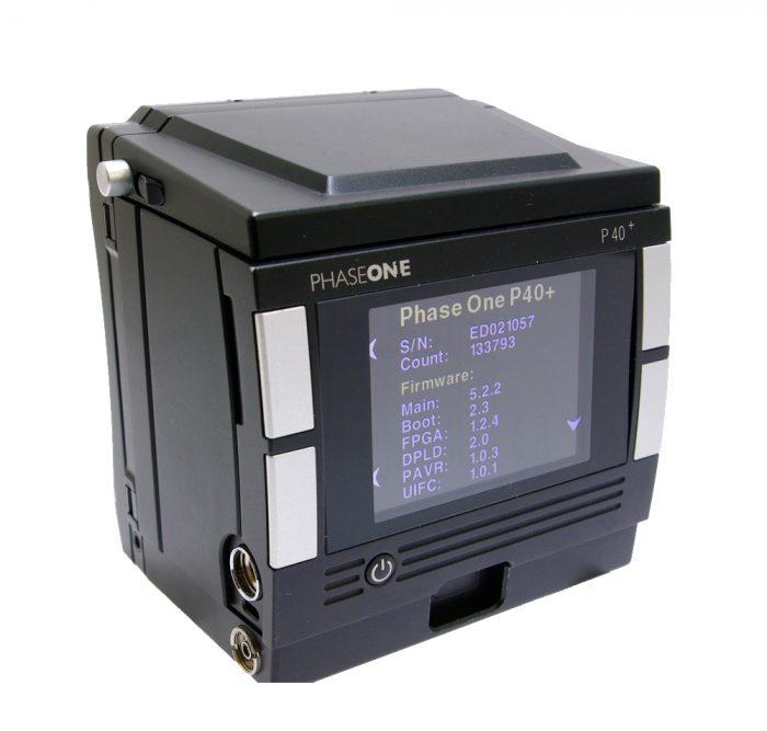 Used phase one p40+ digital back kit hasselblad v fitting