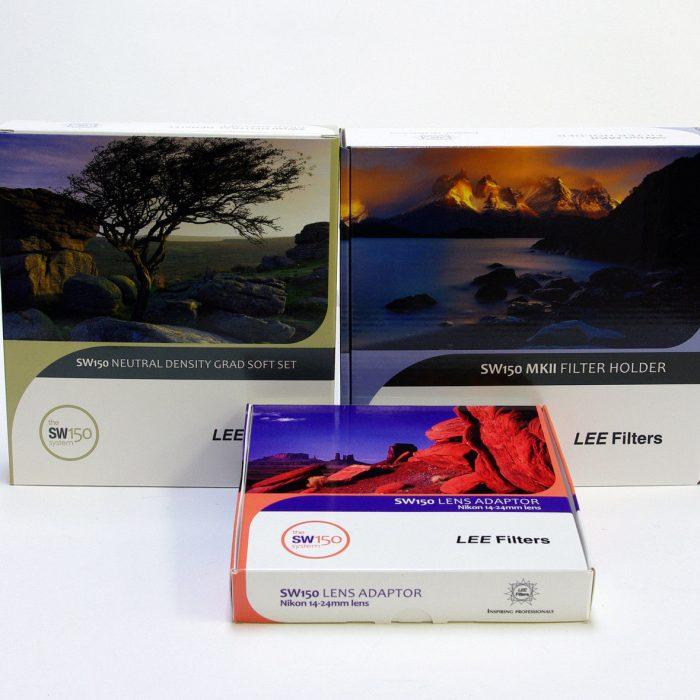 Lee sw150 filter holder & adapter ring bundle with nd grad set – soft