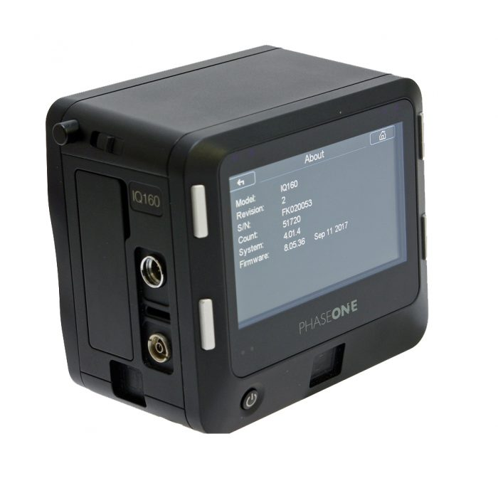 Used phase one iq1 60mp digital back mamiya fit
