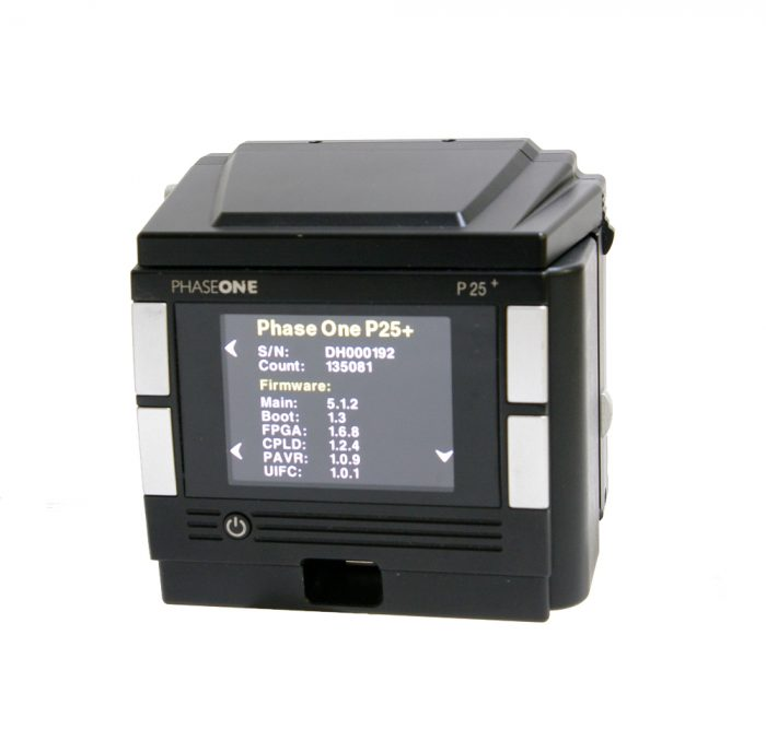 Used phase one p25+ 22mp digital back hasselblad v fitting