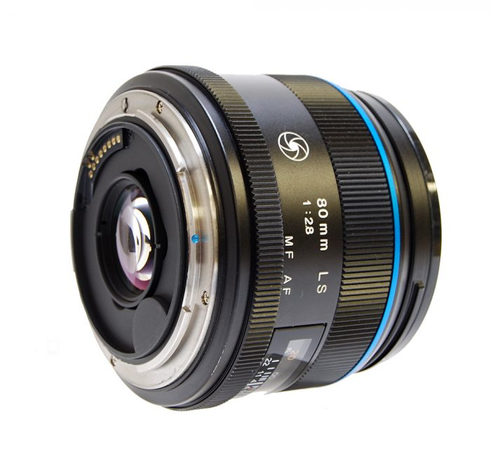 Used phase schneider 80mm f2.8 ls blue ring with lens hood