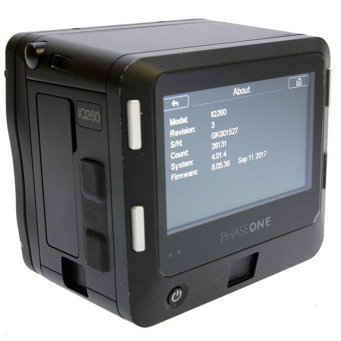 Used phase iq2 60mp digital back