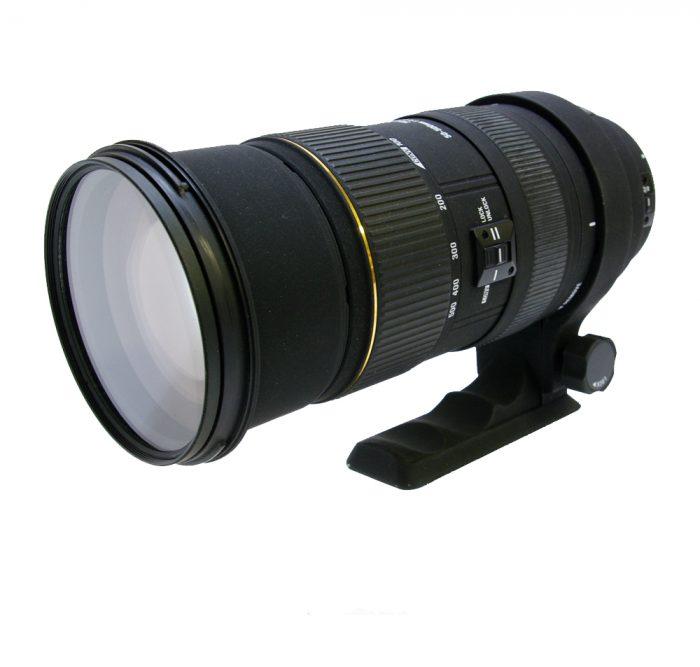 Sigma dg 50-500mm f/4.5-6.3 apo hsm dg lens