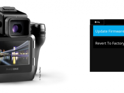 Firmware 1.03.26 for the XF IQ4 Camera System