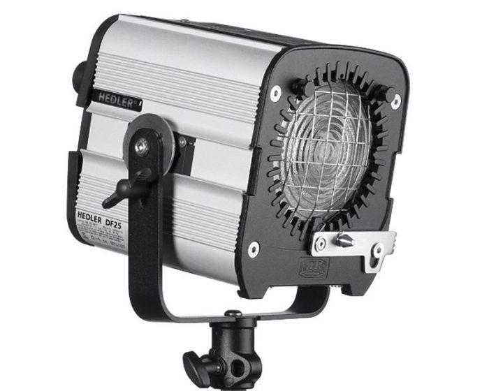 Hedler df 25 daylight hmi light unit