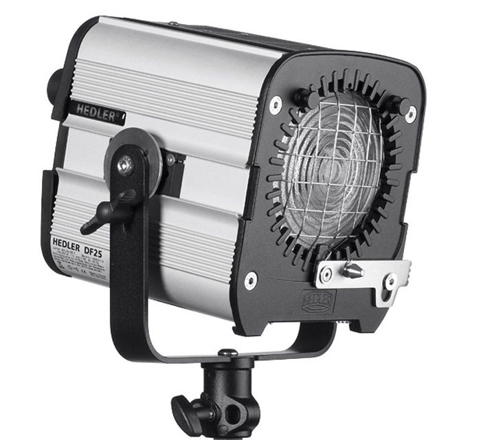 Hedler df 25 daylight hmi light unit