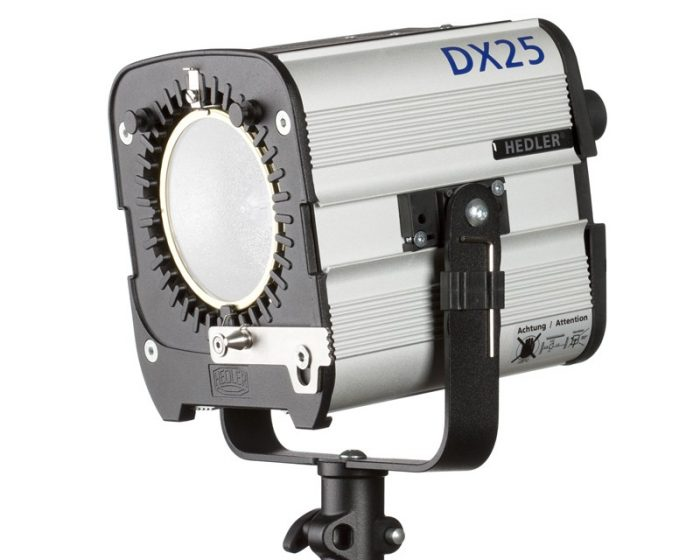 Hedler dx 25 hmi light unit