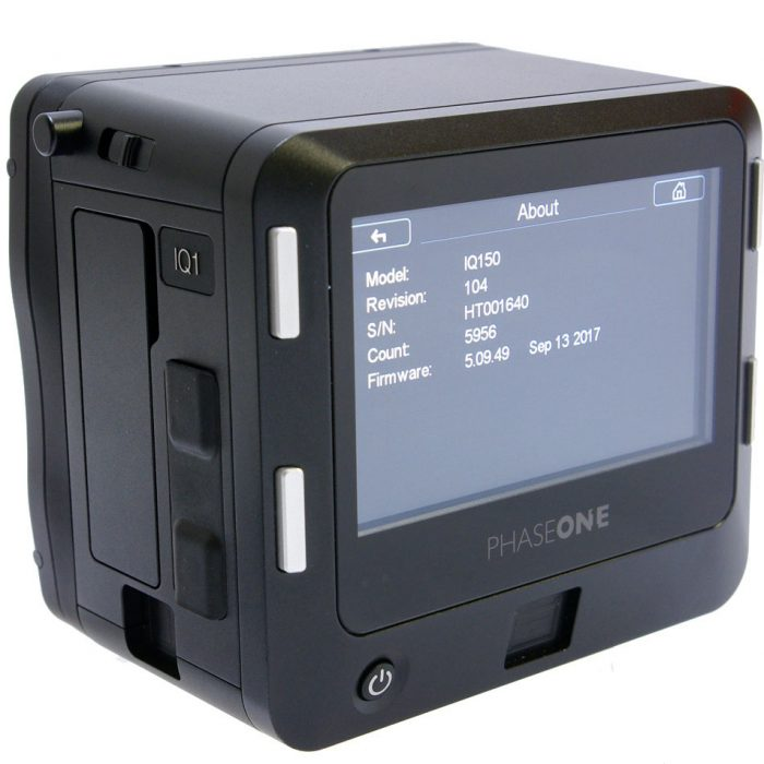 Used iq1 50mp digital back