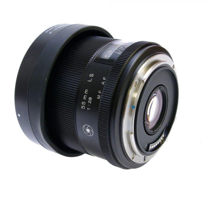 Used phase schneider kreuznach 55mm ls f/2.8 blue ring