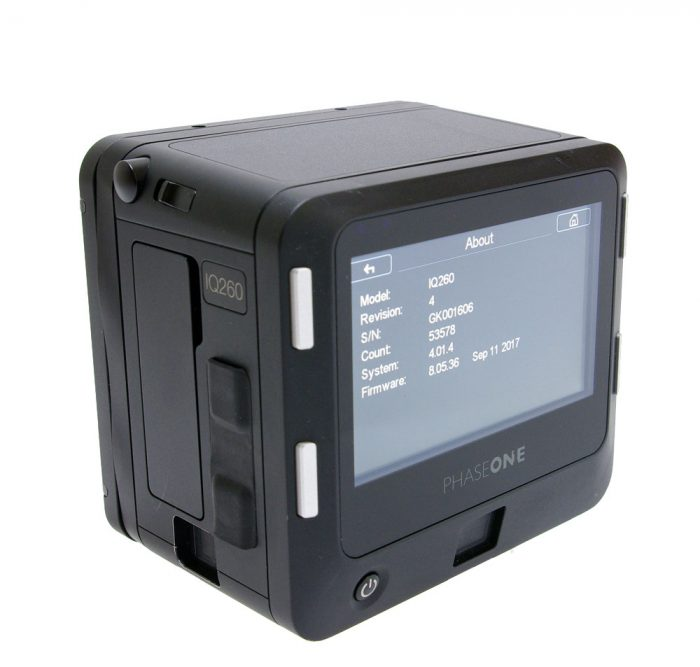 Used phase one iq2 60mp digital back mamiya fit