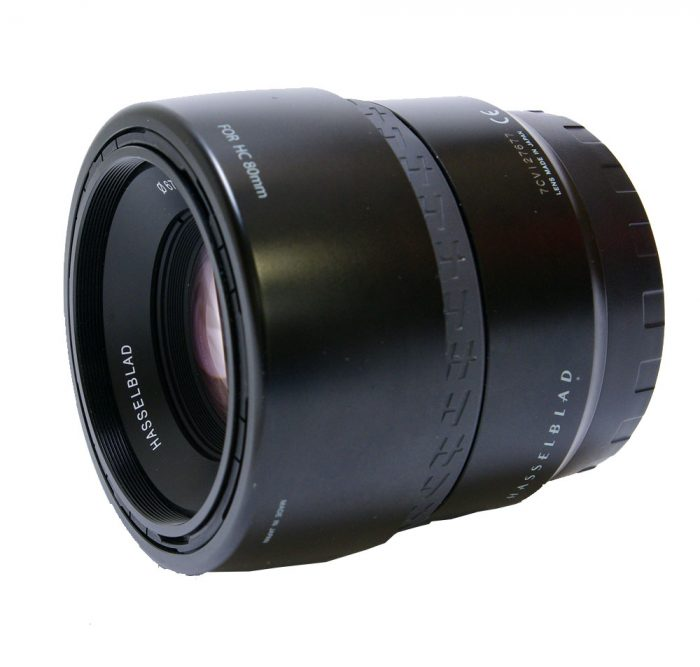 hasselblad hc 80mm f2.8 af with lens hood