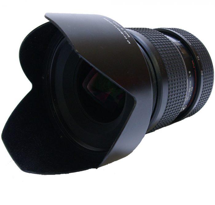 Used schneider kreuznach aspherical 40-80mm f4-5.6  ls zoom af silver ring