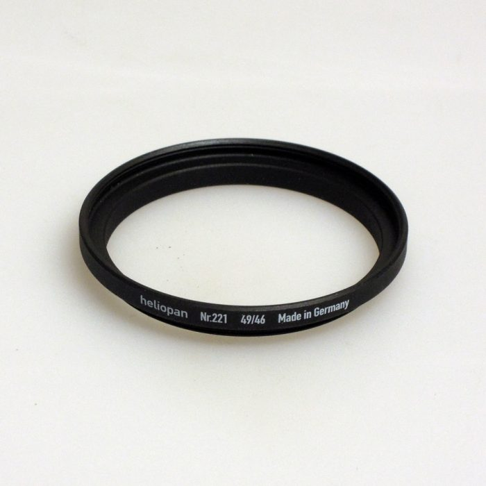 Heliopan adapter/stepping ring up to 49mm (filter)