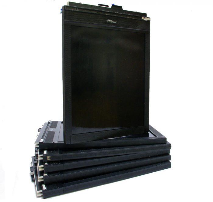 Used fidelity deluxe 10×8 double dark slides