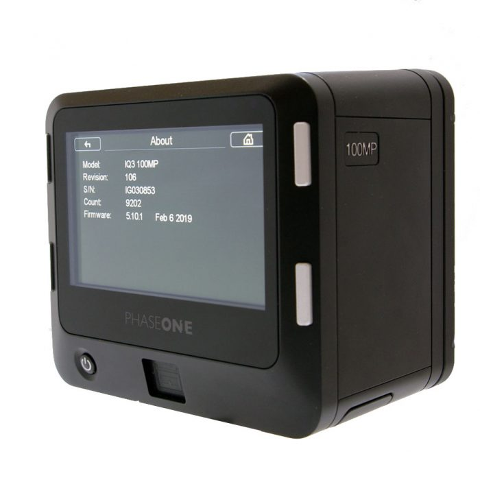 phase one iq3 100mp digital back xf fit ***reduced price under instruction