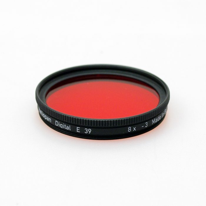 Heliopan red 25 (black & white) filter